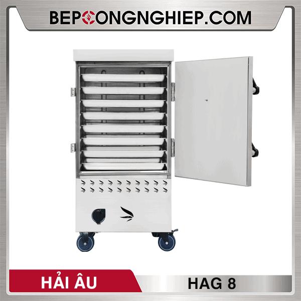 Tủ Nấu Cơm Công Nghiệp Hải Âu HAG 8