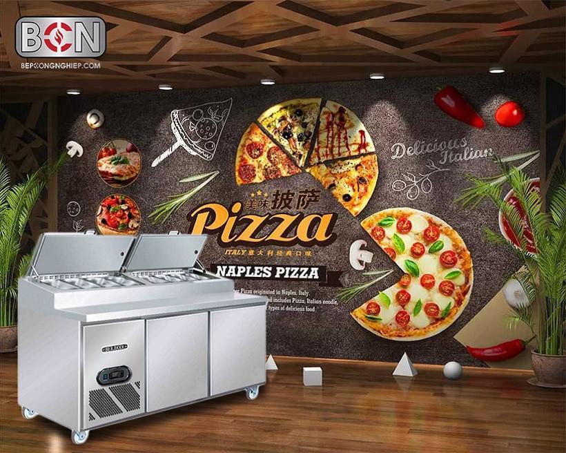 bàn mát pizza 2 cánh Berjaya New