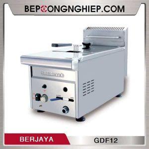 Bếp Chiên Nhúng Đơn Dùng Gas Berjaya GDF12