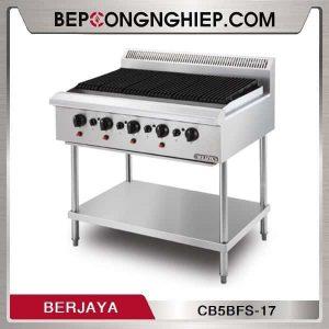 Bếp Nướng 5 Họng Dùng Gas Có Chân Đứng Berjaya