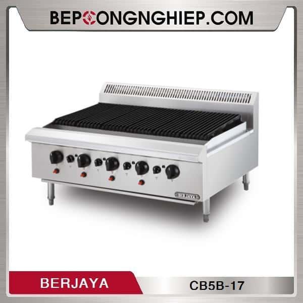 Bếp Nướng 5 Họng Dùng Gas Berjaya