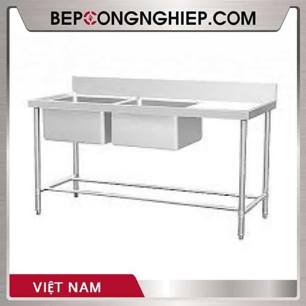 Chậu Rửa Đôi Có Bàn Việt Nam