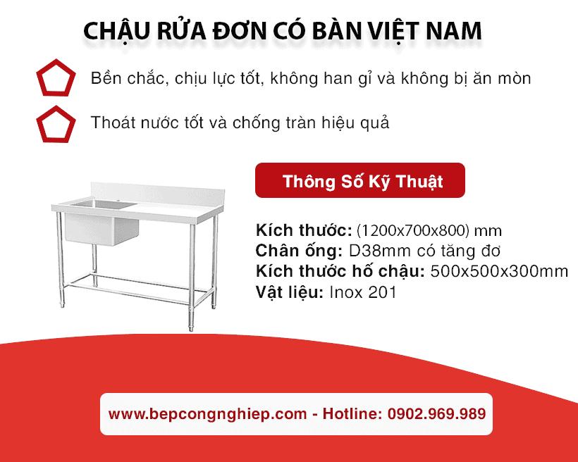 chau rua don co ban viet nam banner 1