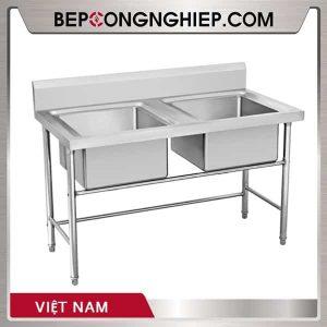Chậu Rửa Inox Đôi Việt Nam