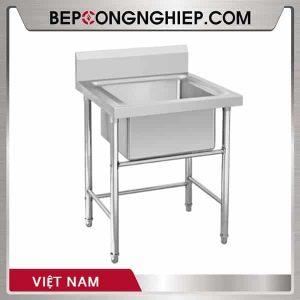 Chậu Rửa Inox Đơn Việt Nam
