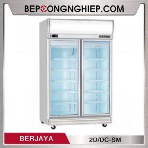 Tủ Mát 2 Cánh Kính Berjaya