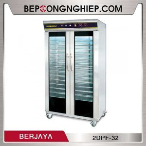Tủ Ủ Bột Làm Bánh 2 Cánh 32 Khay Berjaya