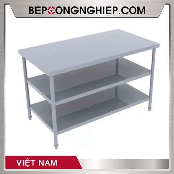 Bàn Inox 3 Tầng Việt Nam