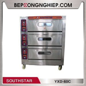 Lò Nướng Bánh 3 Tầng 6 Khay Dùng Điện Southstar YXD-60C