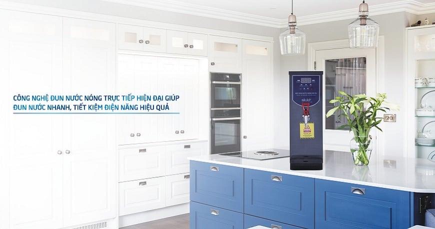 máy đun nước nóng công nghiệp hải âu phù hợp với nhiều mô hình kinh doanh