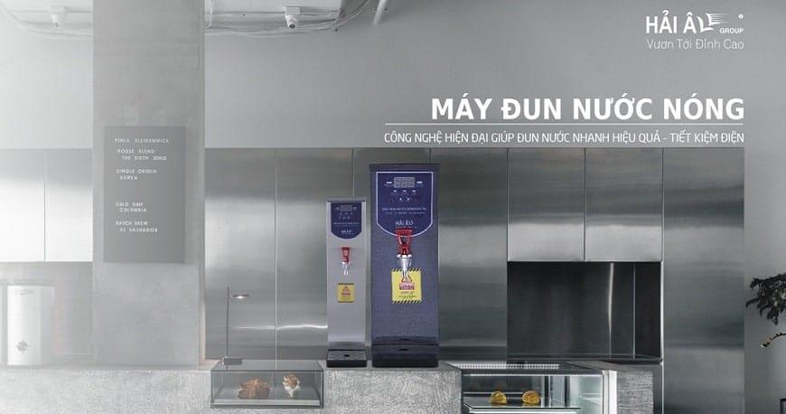 Tại sao máy đun nước nóng công nghiệp Hải Âu phù hợp với nhiều mô hình kinh doanh