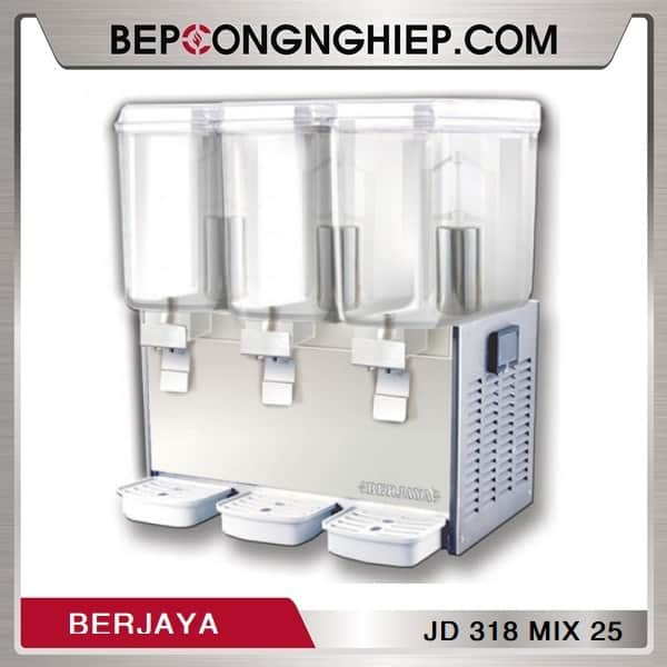 Máy Giữ Lạnh Nước Trái Cây 3 Bình Berjaya