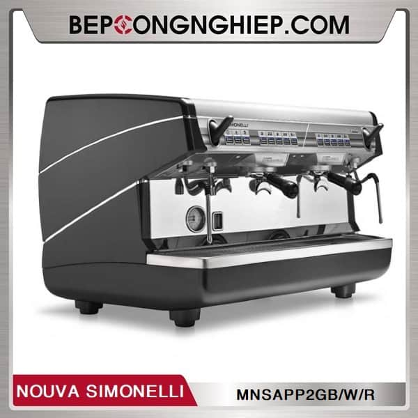 may pha cafe truyen thong appia ii 2 group volumetric nouva simonelli black