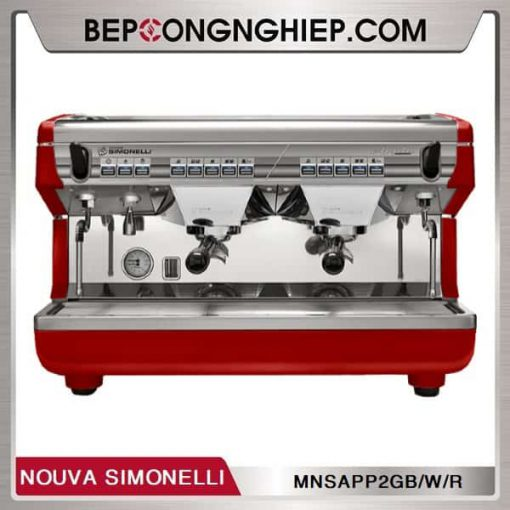 may pha cafe truyen thong appia ii 2 group volumetric nouva simonelli red