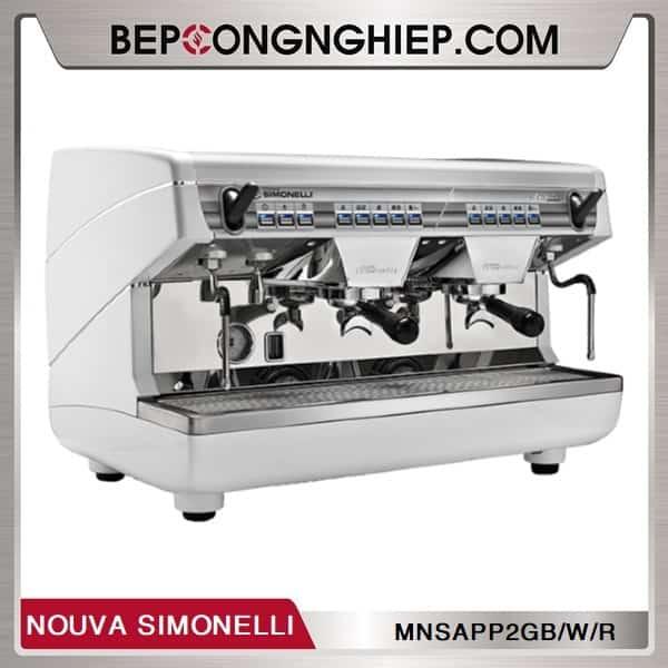 Máy Pha Cafe Truyền Thống Appia II 2 Group Volumetric Nouva Simonelli
