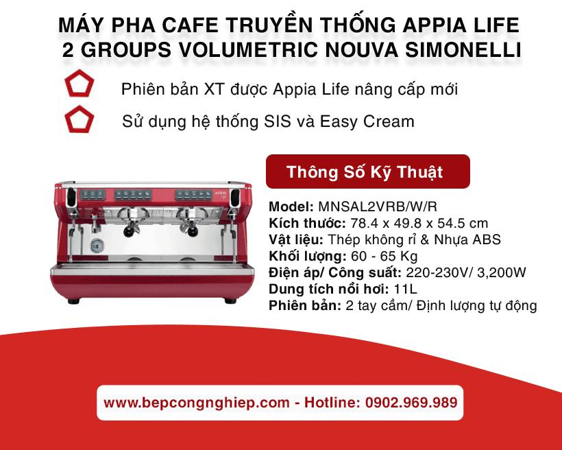 may pha cafe truyen thong appia life 2 groups volumetric nouva simonelli banner 1