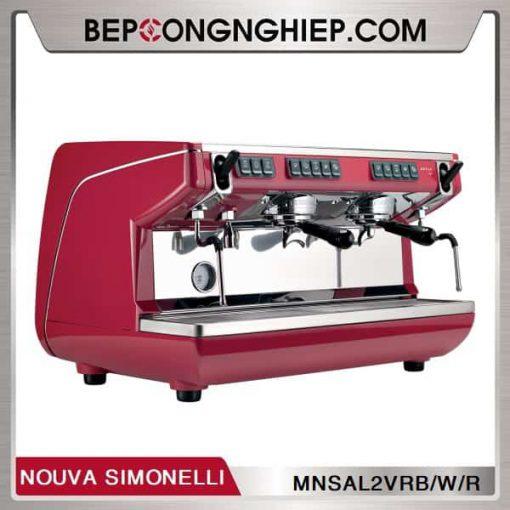 may-pha-cafe-truyen-thong-appia-life-2-groups-volumetric-nouva-simonelli-red