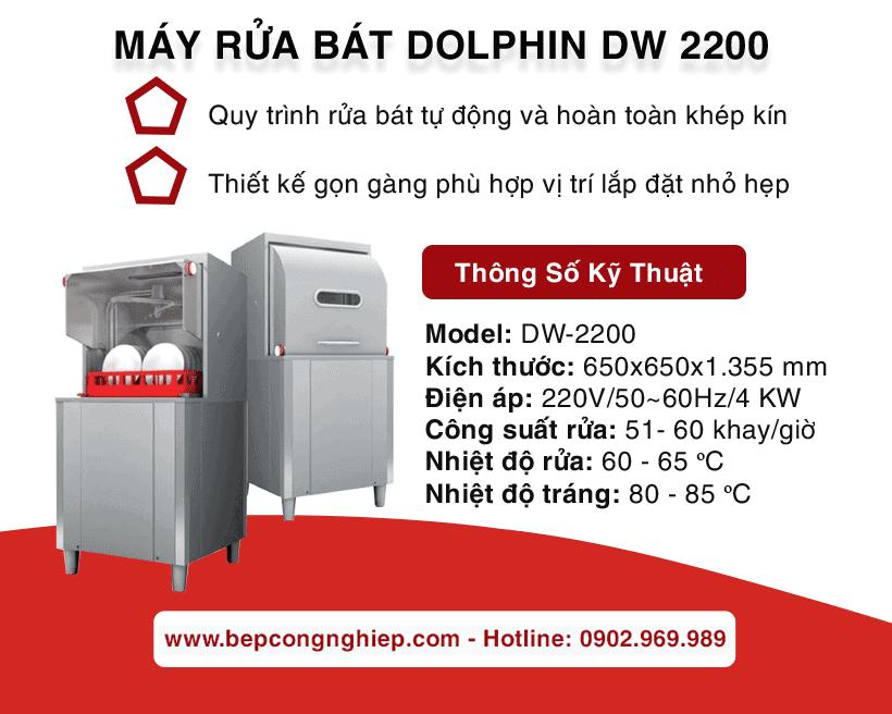 may rua bat dolphin dw 2200 banner 1