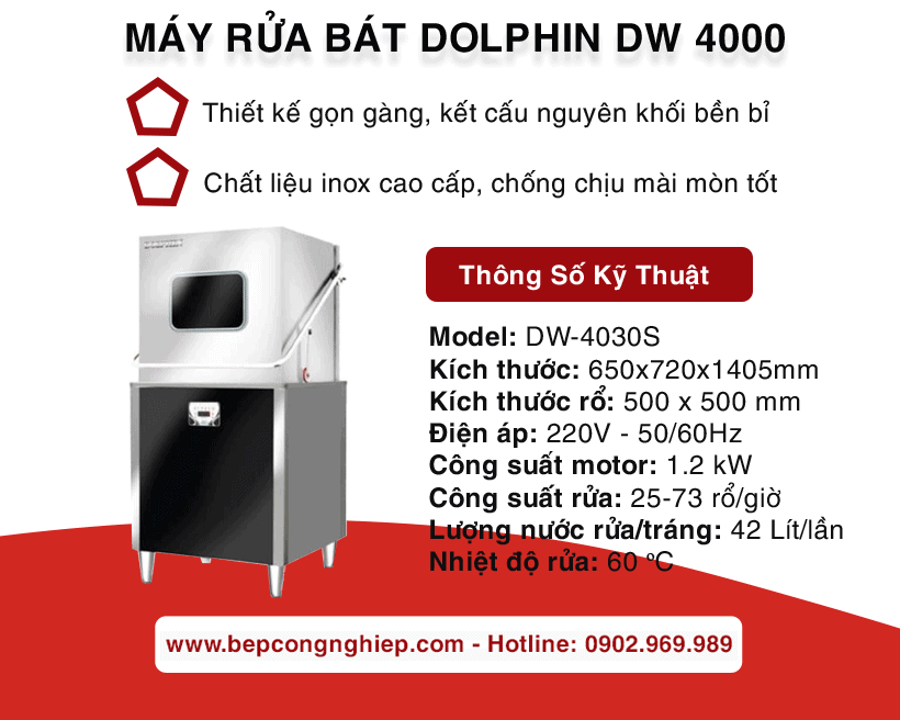 may rua bat dolphin dw 4000 banner 1