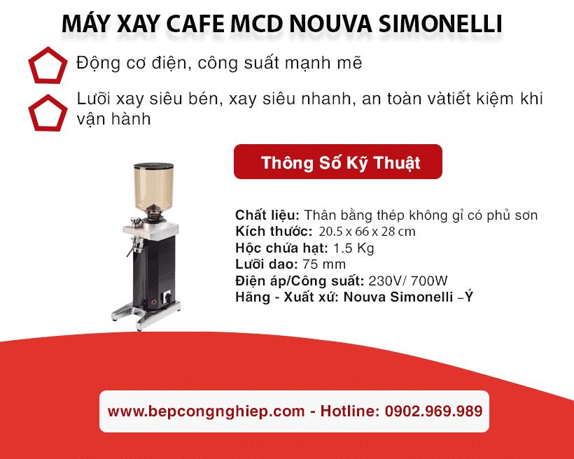 may xay cafe mcd nouva simonelli banner 1