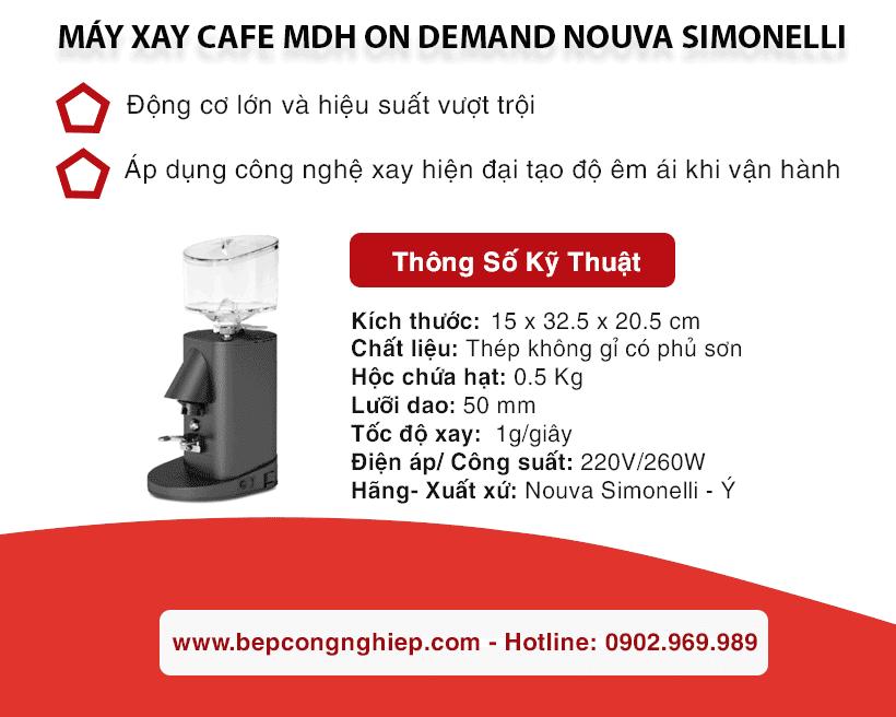 may xay cafe mdh on demand nouva simonelli banner 1