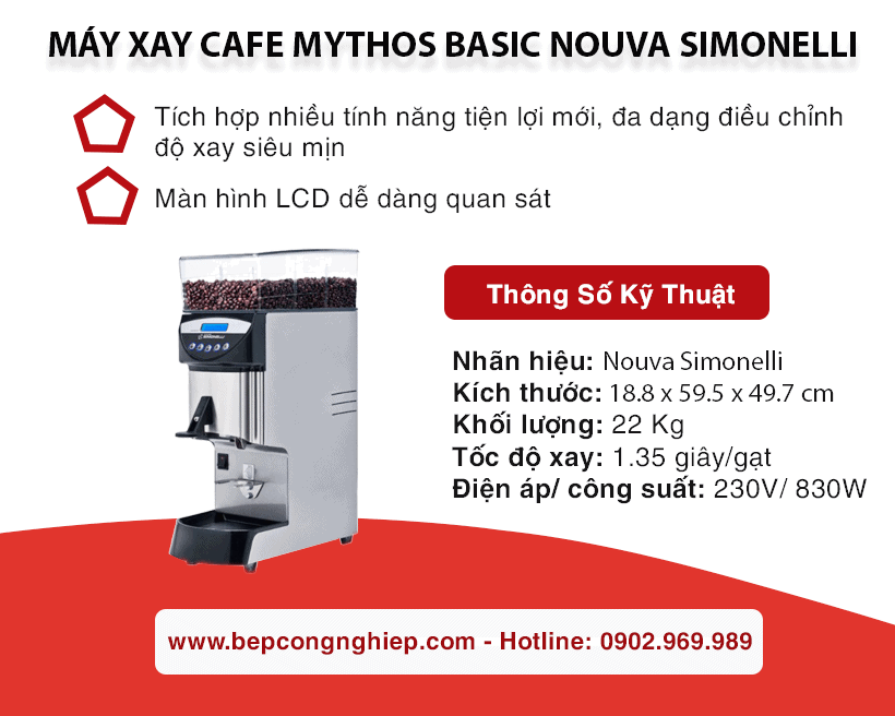 may xay cafe mythos basic nouva simonelli banner 1