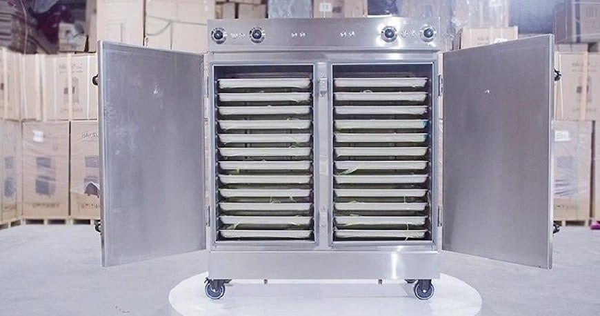 ra mắt tủ nấu cơm công nghiệp hải âu