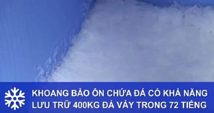 thiết kế cấu tạo nguyên lý hoạt động máy làm đá vảy hải âu hav 600