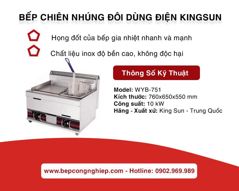 bep chien nhung doi dung dien kingsun banner 1