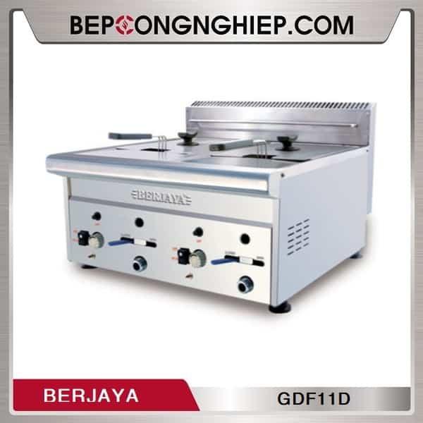 Bếp Chiên Nhúng Đôi Dùng Gas Berjaya GDF11D