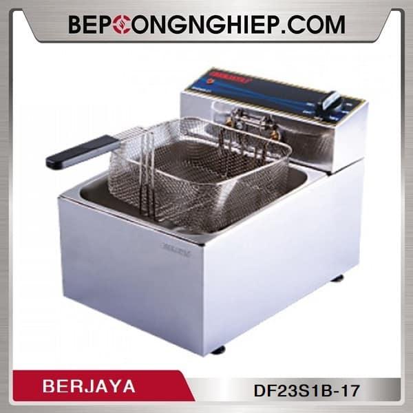 Bếp Chiên Nhúng Đơn Dùng Điện Berjaya DF23S1B-17