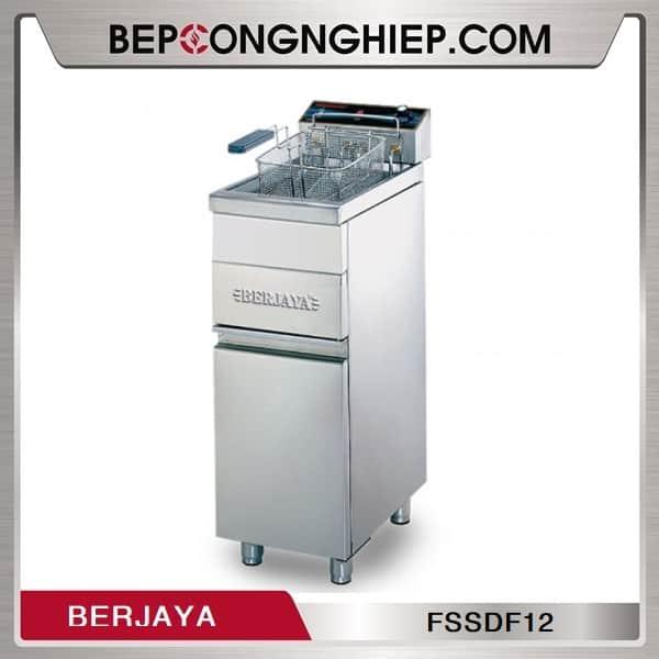 Bếp Chiên Nhúng Đơn Dùng Điện Có Chân Đứng Berjaya FSSDF12