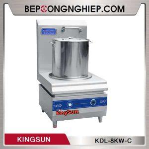 Bếp Hầm Đơn Dùng Điện Công Nghiệp Kingsun KDL-8KW-C
