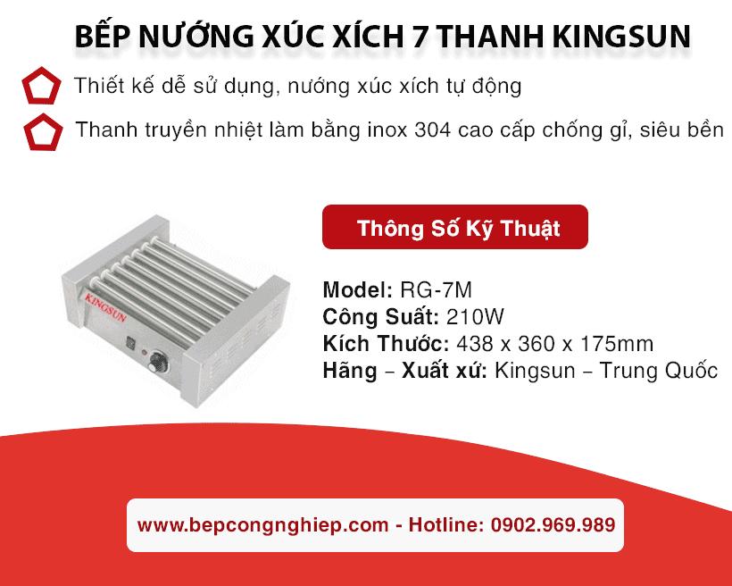 bep nuong xuc xich 7 thanh kingsun banner 1