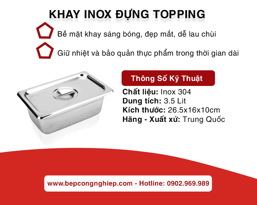 khay inox dung topping trung quoc banner 1