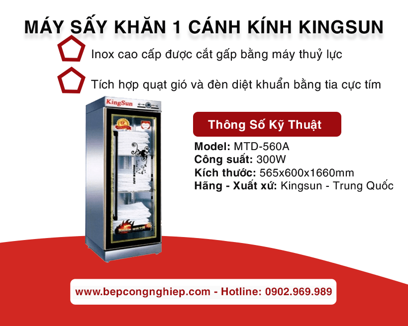may say khan 1 canh kinh kingsun banner 1