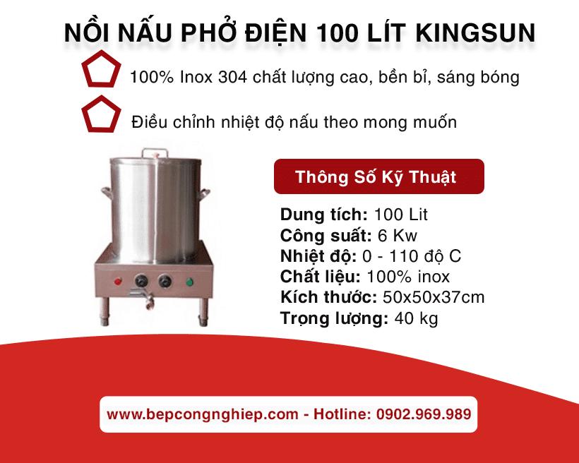noi nau pho dien 100 lit kingsun banner 1