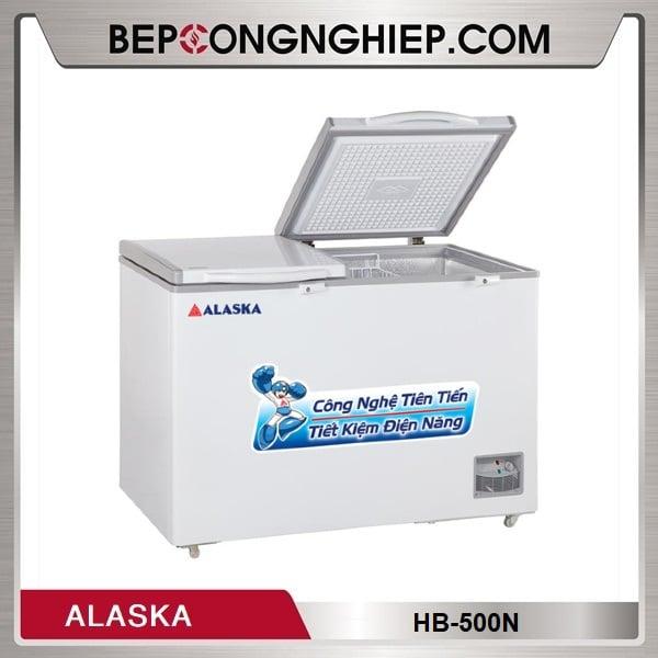 Tủ Đông 2 Cửa Dạng Nằm 500L Alaska