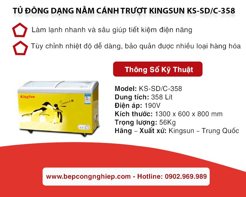 tu dong dang nam canh truot kingsun ks sd c 358 banner 1