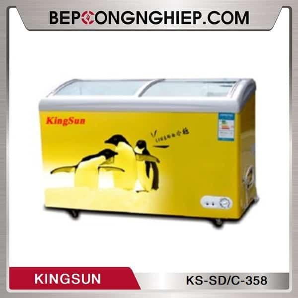 Tủ Đông Dạng Nằm Cánh Trượt Kingsun KS-SD/C-358