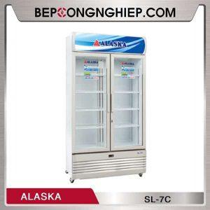 Tủ Mát 2 Cánh Kính 700L Alaska