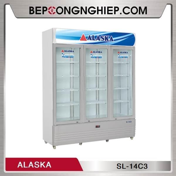 Tủ Mát 3 Cánh Kính 1400L Alaska