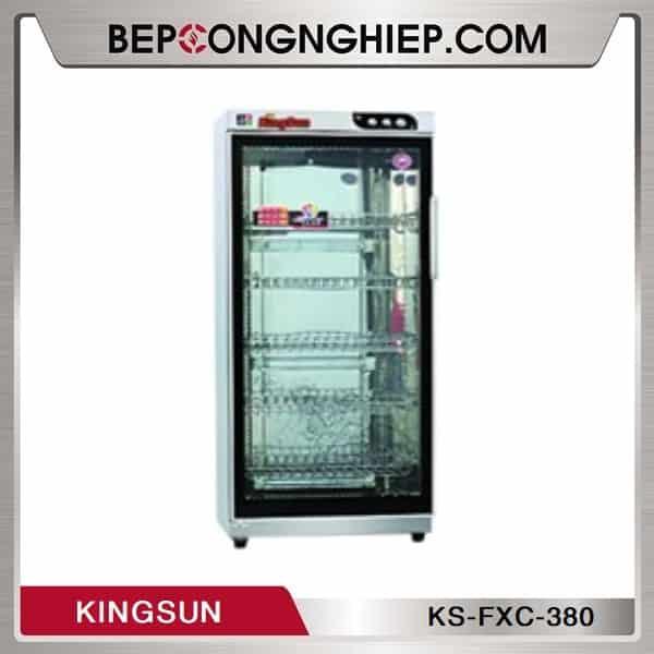 Tủ Sấy Bát 1 Cánh Kính Kingsun KS-FXC-380