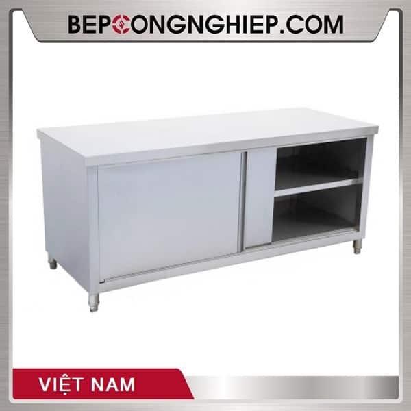 Bàn Inox Cửa Trượt Việt Nam