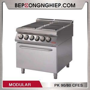 Bếp Âu 4 Họng Có Lò Nướng Dùng Điện Modular PK 90/80 CFES