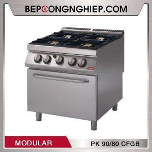 Bếp Âu 4 Họng Có Lò Nướng Dùng Gas Modular PK 90/80 CFGB
