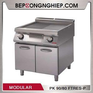 Bếp Chiên Nửa Phẳng Nửa Nhám Dùng Điện Modular PK 90/80 FTRES-P