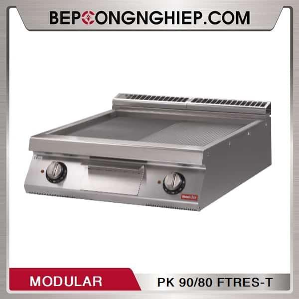 Bếp Chiên Nửa Phẳng Nửa Nhám Dùng Điện Modular PK 90/80 FTRES-T