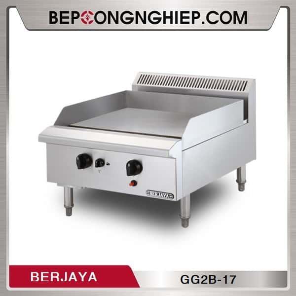 Bếp Chiên Phẳng 2 Họng Dùng Gas Berjaya GG2B-17