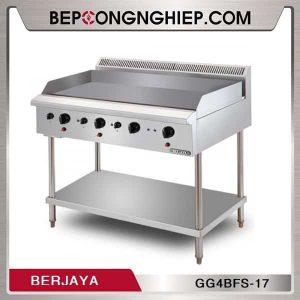 Bếp Chiên Phẳng 4 Họng Dùng Gas Có Chân Đứng GG4BFS-17